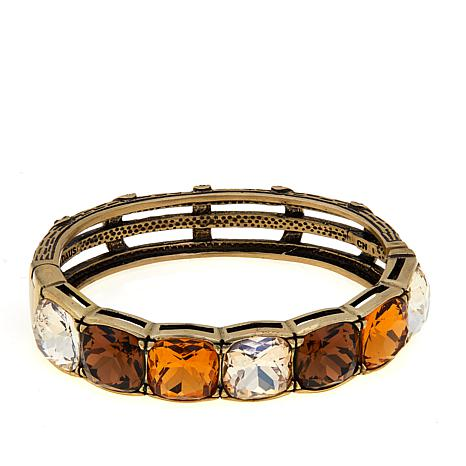 Heidi Daus Tried And True Crystal Bangle Bracelet