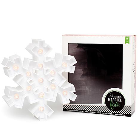 Heidi Swapp Marquee Love LED Light - Snowflake