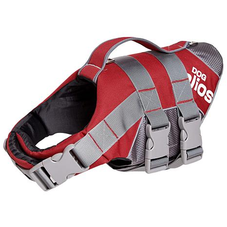 Helios Splash-Explore Small Buoyant Dog Harness and Life Jacket