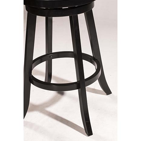 Phenomenal Hillsdale Furniture Fairfox Swivel Counter Stool Wood Faux Leather Alphanode Cool Chair Designs And Ideas Alphanodeonline
