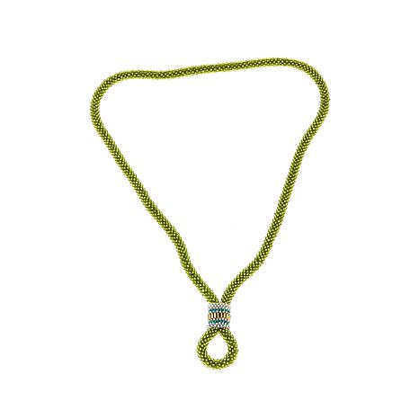 """Himalayan Gems™ 2-in-1 Potay Beaded 26"""" Necklace"""