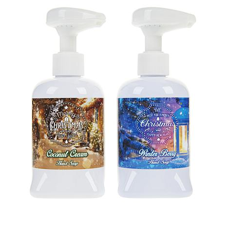 Holiday Musical Soap Pumps - Set of 2