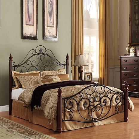 home origin metal bed queen