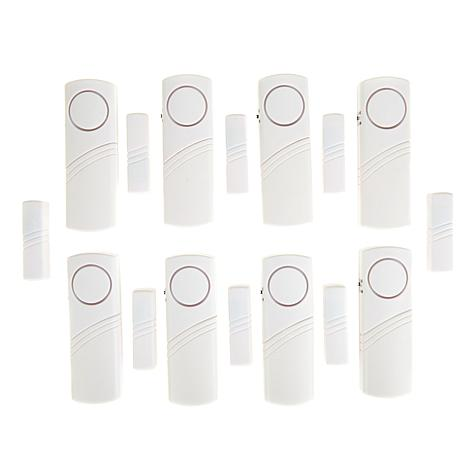 Home Security Wireless Magnetic Alarm 8-piece Kit