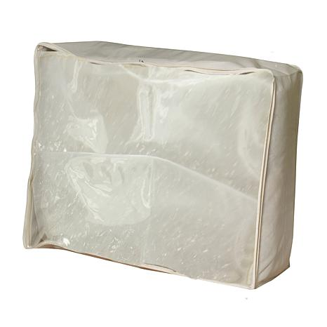 household essentials canvas blanket bag natural 8401202 hsn