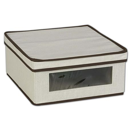 Household Essentials Vision Storage Box - Small
