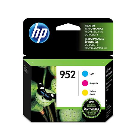 HP 952 Tri-Pack of Color Ink Cartridges