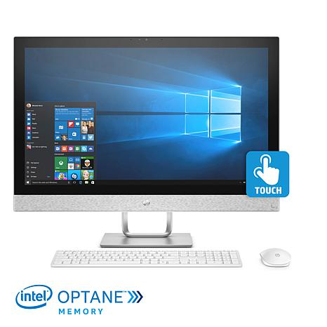 """HP Pavilion 23.8"""" Touch Core i7 8GB/1TB All-in-One PC w/Optane Memory"""