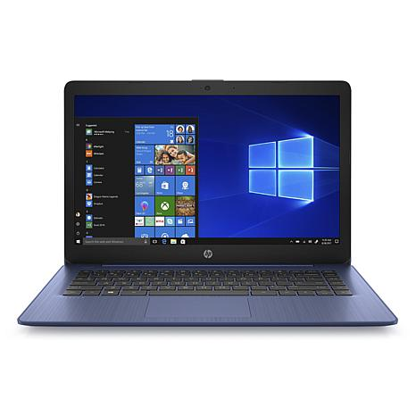 """HP Stream 14"""" Laptop 14-ds0010nr with 4/32/gb - Blue"""