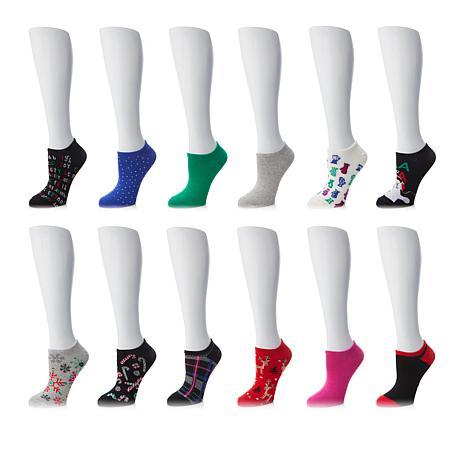 12 Days Of Christmas Socks.Hue 12 Days Of Christmas Socks Holiday Box Set