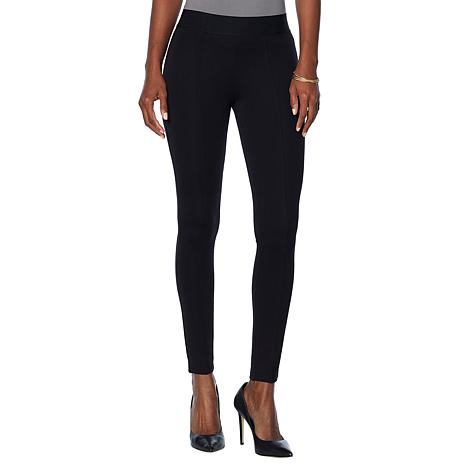 HUE High-Waist Seamed Ponte Leggings
