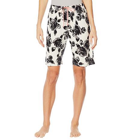Hue Printed Bermuda Pajama Short - Missy