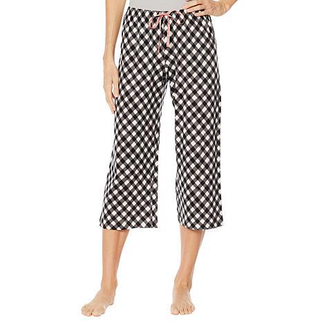 e3ec96c78 Hue Printed Capri Pajama Pant - Missy - 8894035 | HSN
