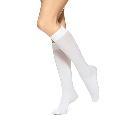 Hue Soft Opaque Knee High Socks 3-pack