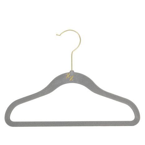 Huggable Hangers 36-pack of Kid's Hangers with Brass Hooks