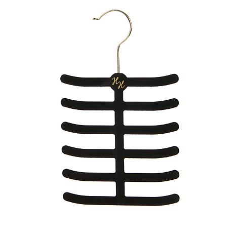 Huggable Hangers Belt and Tie Hangers 2-pack