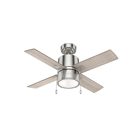 "Hunter 42"" Beck Ceiling Fan with LED Light and Pull Chain"