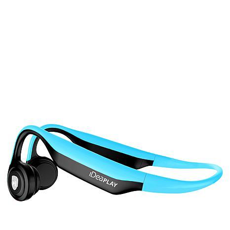 iDeaPLAY ES368 Bone Conduction Wireless Headphones with Case & Voucher
