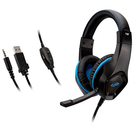 iLive IAHG19B Universal Gaming Headphones with Microphone