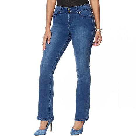 IMAN Global Chic Luxury Resort 360 Slim Bootcut Jean - Basic