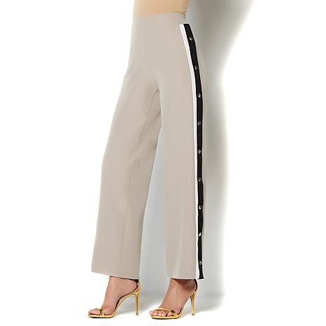 IMAN Global Easy to Wear Colorblock Pull-On Pant