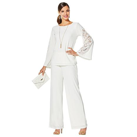 IMAN Holiday Top, Pant & Bag Dressed & Ready Luxury Ensemble