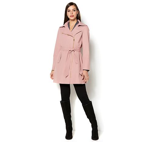 IMAN Runway Chic Luxurious Trench Coat