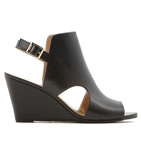 IMAN Runway Chic Luxurious Wedge Shootie