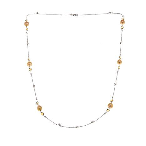 Imperial Pearls 10-11mm Golden South Sea Cultured Pearl Necklace