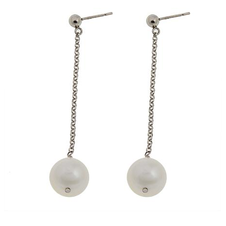 Imperial Pearls 10.5-11.5mm Cultured Pearl Dangle Earrings