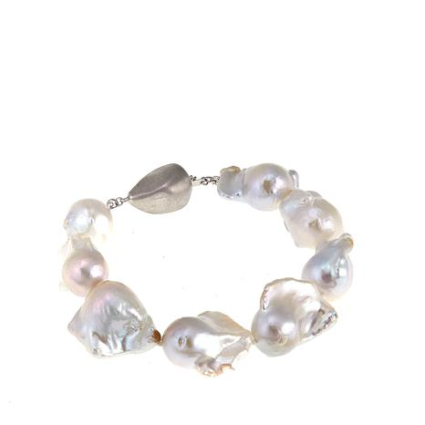 Imperial Pearls 15-17mm Cultured Barqoue Pearl Bracelet