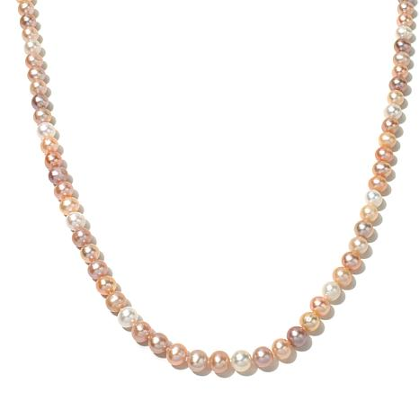 "Imperial Pearls Multicolor Cultured Pearl 36"" Necklace"