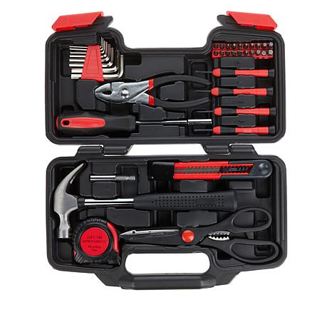 Improvements 39-piece Tool Set with Carrying Case