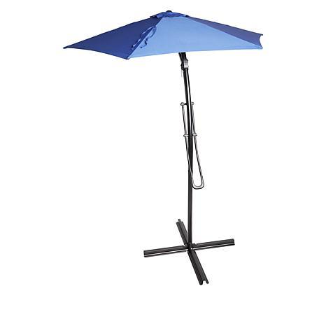 Improvements 9' Telescoping Sun Offset Umbrella