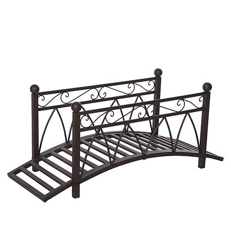 Improvements Metal Garden Bridge