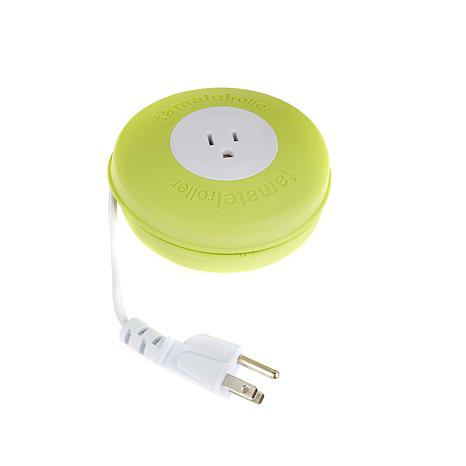 Improvements Single Outlet Extension Cord with Reel