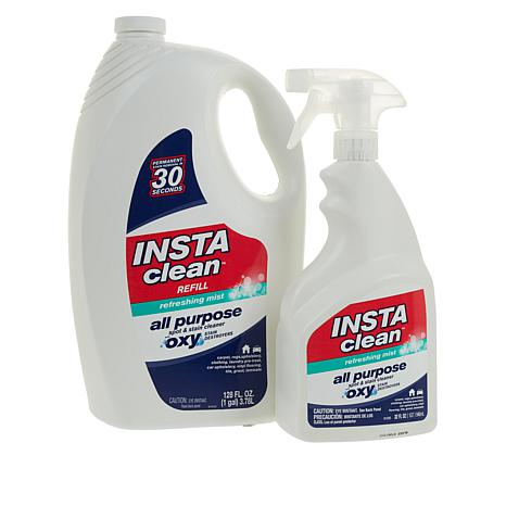 InstaClean 32 fl. oz. Stain Removing Cleaner with 128 fl. oz. Refill