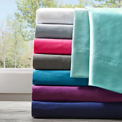 Intelligent Design All Season Wrinkle-Free Sheets - Cal King/Gray