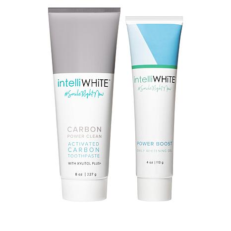 IntelliWHiTE® Carbon Power Toothpaste and Whitening Gel
