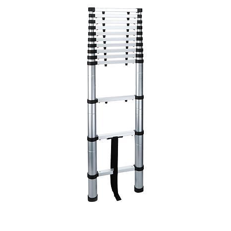 iReach 12.5' Soft Close Telescoping Aluminum Ladder