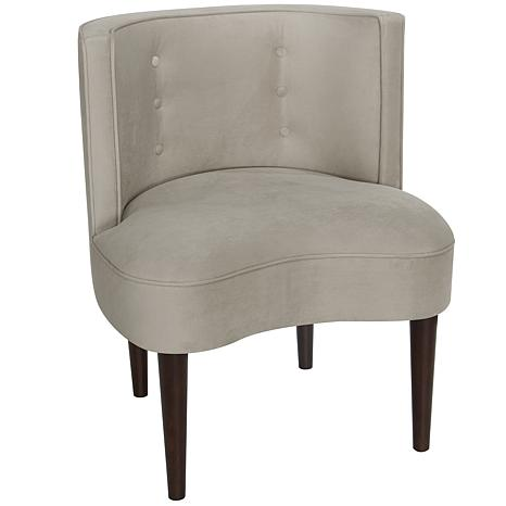 Iris Apfel Armless Chair with Buttons