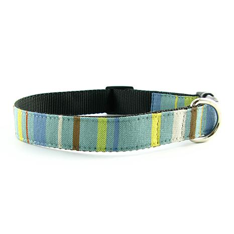 Isabella Cane Abbington Dog Collar - Sky Small