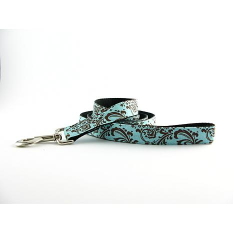 Isabella Cane Dog Leash - Chocolate Blue 5x1