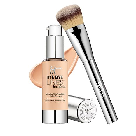 IT Cosmetics Bye Bye Lines Foundation with Brush