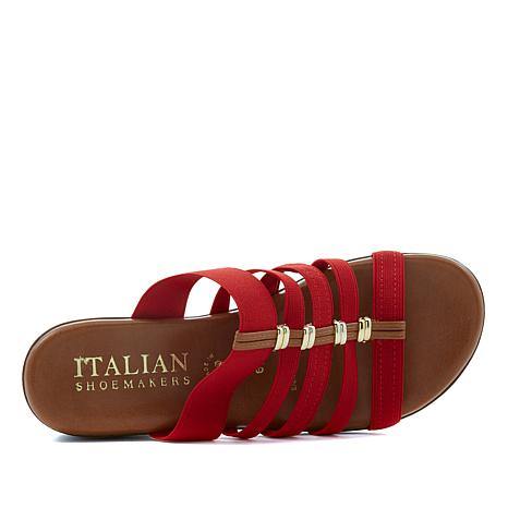 71ef88eba Italian Shoemakers Aldis Strappy Slide Sandal - 8633339