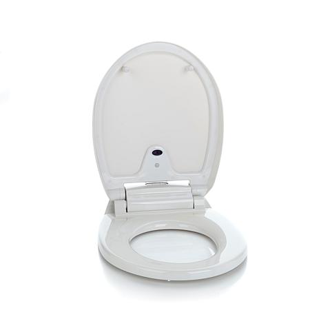 iTouchless Round Touchless Toilet Seat iTouchless Round Touchless Toilet  Seat .