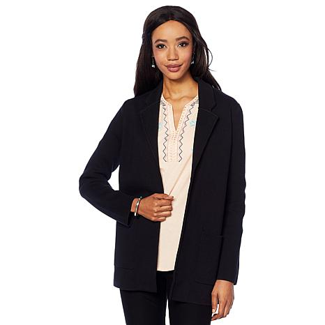 Jamie Gries Sweater Knit Blazer