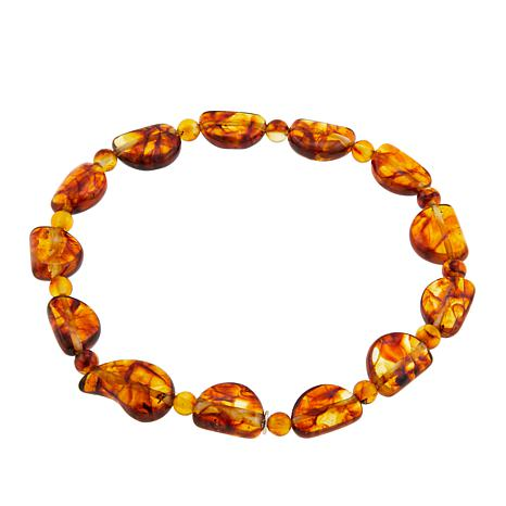 Jay King Amber Stretch Bracelet