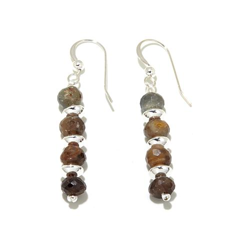 Jay King Coco Cashmere Sapphire Bead Drop Earrings