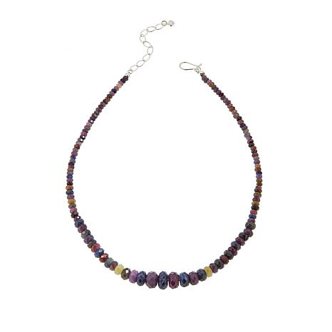 Jay King Colors of Sapphire Beaded Necklace